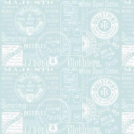 Paperdoll Text Blue C7563R-BLUE
