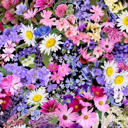 Timeless Treasures Fleur Garden Floral