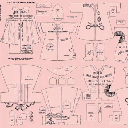 Paperdoll Clothes Pink C7568R-PINK