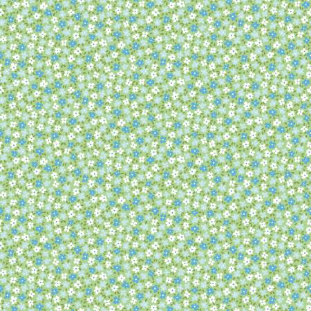 May Belle Blossom Green Small Floral
