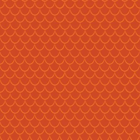 Dragons Scales Orange