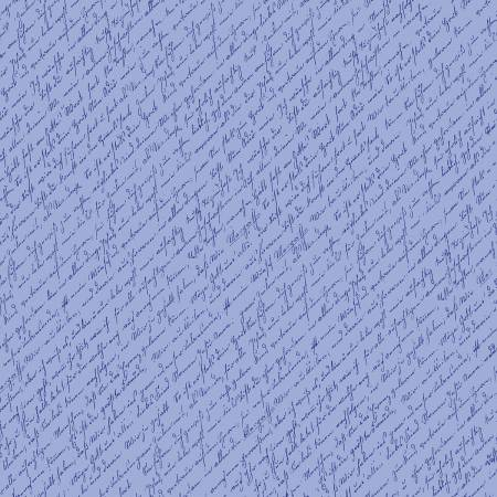 PENNY Home Again Script Blue C7673