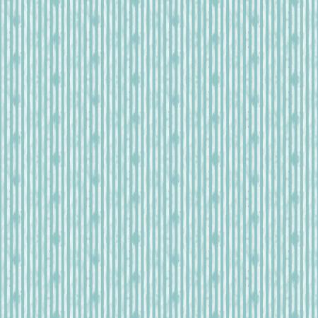 Riley Blake Abbie  Stripe Aqua