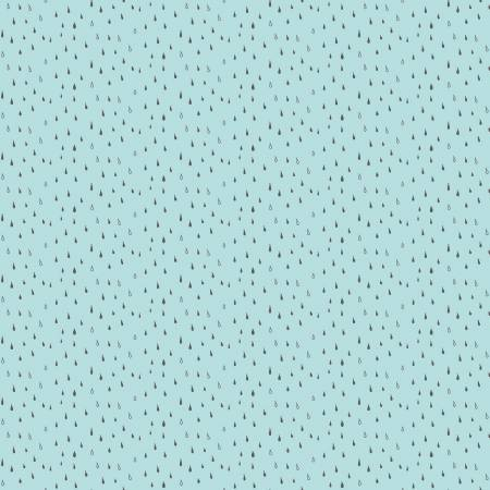 Abbie by Sue Daley Designs Raindrop Aqua C7716-Aqua OTS