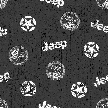 Jeep In The Wild Toss Black