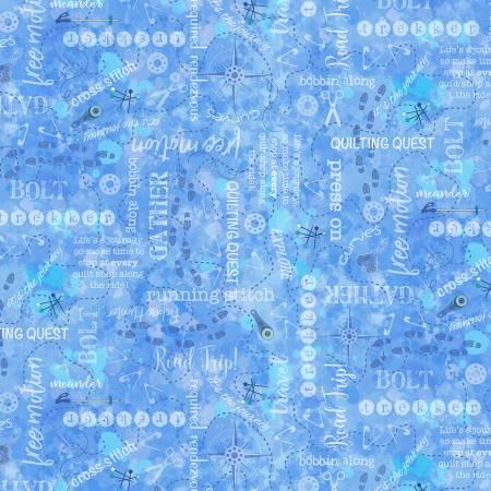 Quilter's Trek C7735 Blue