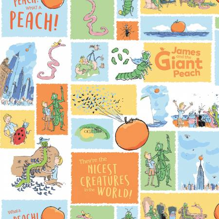 James and the Giant Peach Roald Dahl