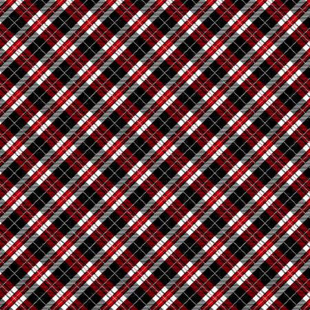 Red Happy Plaid C7747