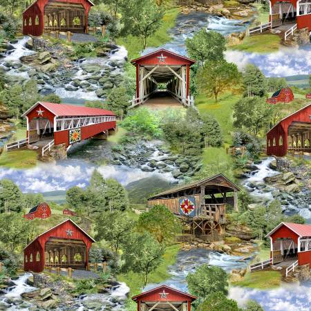 Covered Bridge - All Over Print