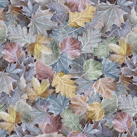 Multi Winter Packed Leaves