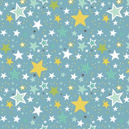 Sweet Baby Boy Stars Blue