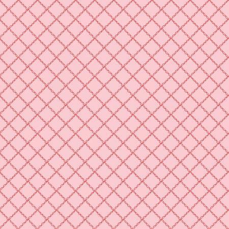 Simple Goodness Ruffle Plaid Pink