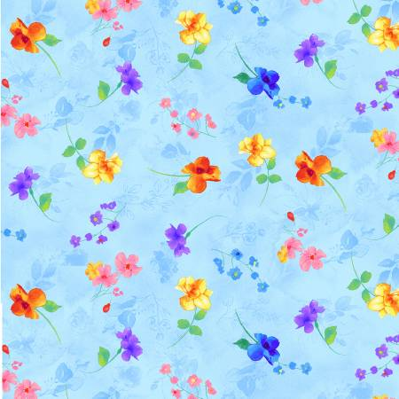 Rain Blossom - Pretty Floating Pastel Flowers