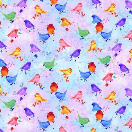 Rain Blossom - Bird - Multi