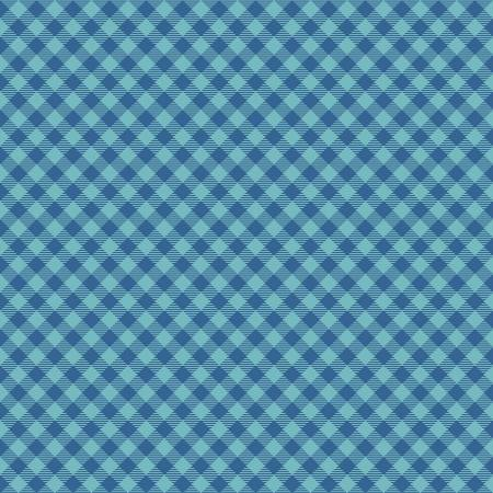 Cozy Gingham Blue