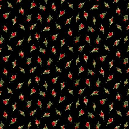 Black Rose Buds
