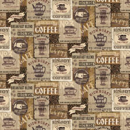 Coffee Signs - Brown