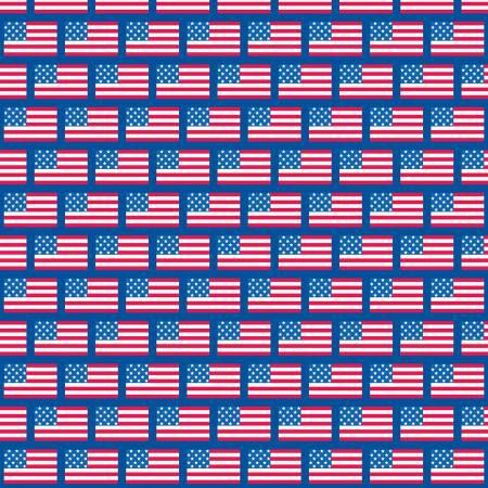 PATRIOTIC FLAGS BLUE