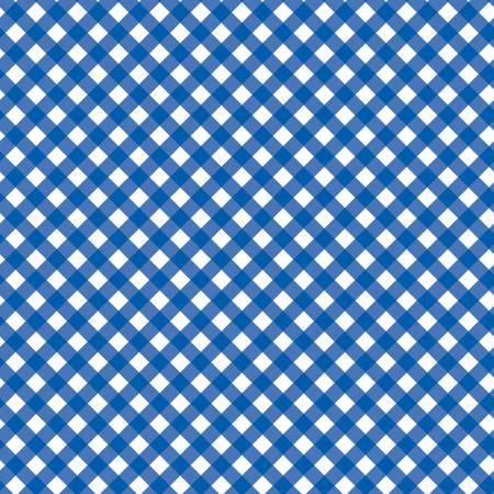 PATRIOTIC GINGHAM BLUE C8005