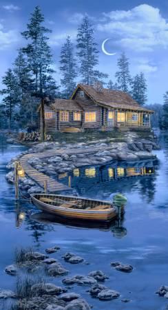 Lakeside Lodge Cabin Panel