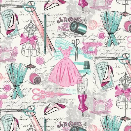 Dressmaker's Workshop Paris Dressmaking Multi