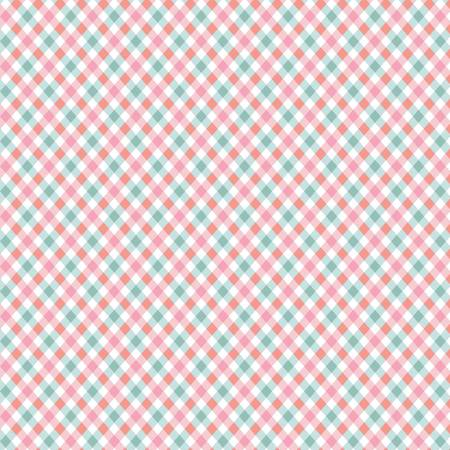 Perfect Party Plaid Pink C8135