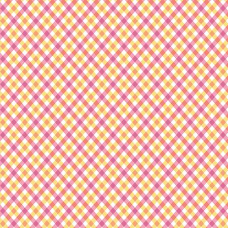 Perfect Party Plaid Yellow Pink