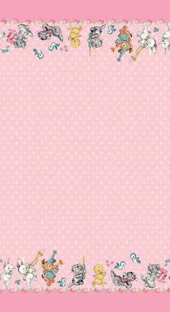 Perfect Party Border Pink C8137