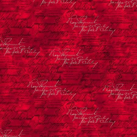 Red Script Words