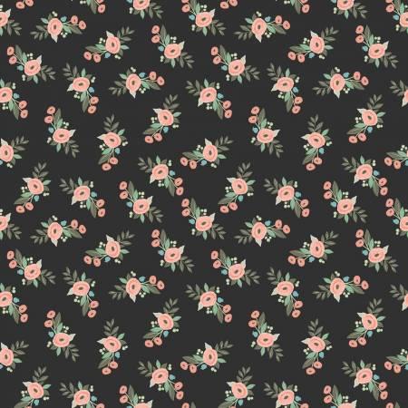 Bliss - Floral - Black