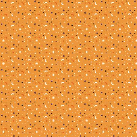 RILEY BLAKE Fab-Boo-Lous Scatter Orange