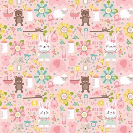 Sweet Baby Girl - Main Pink C8190-PINK