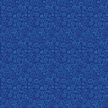 Pout Pout Fish Blue Swirls