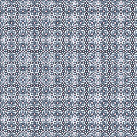Sweet Stems - Lattice Dark Blue