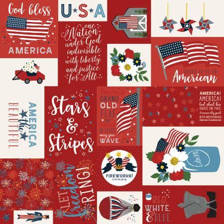 Celebrate America: Main - Red