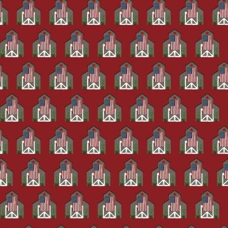Celebrate America Barns Red