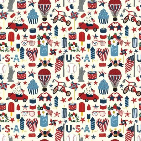 Celebrate America: Icons - Cream