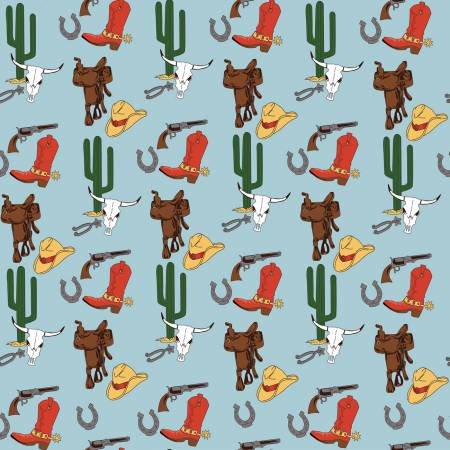 Cowboy Country-Gear Blue