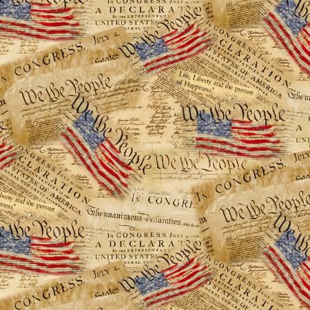 Declaration of Independence Patriotic 8320
