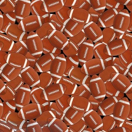 Brown Footballs Packed