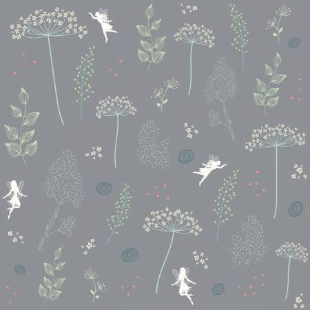 Fairy Edith Wildflowers Gray