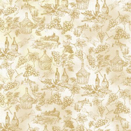 Wine Country Toile natural