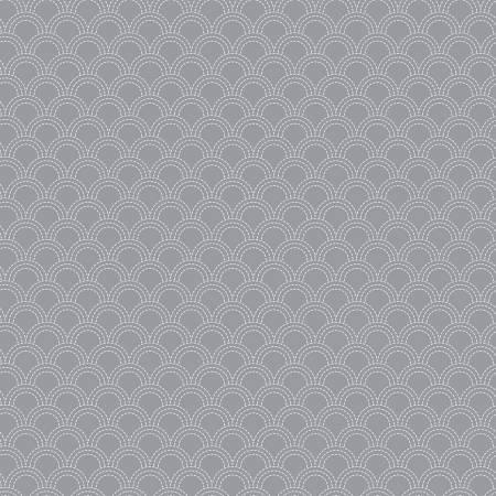 Something Borrowed - Scallops Gray