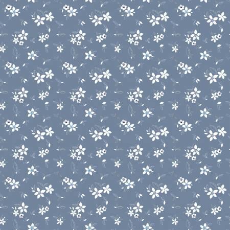 Something Borrowed - Floral Dk blue