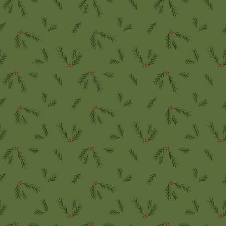 Winterberry Sprigs Green