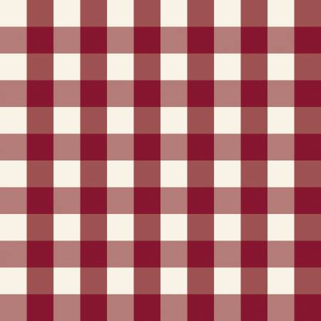 Winterberry Check Red