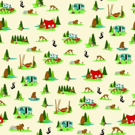 Gone Camping - Site Cream