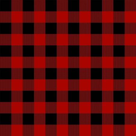 Gone Cammping Plaid Red
