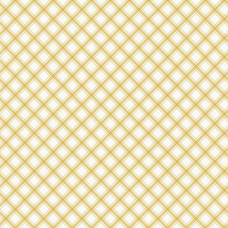 Glamping Plaid Yellow
