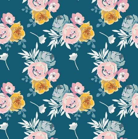 Blooms & Bobbins - Main - Blue